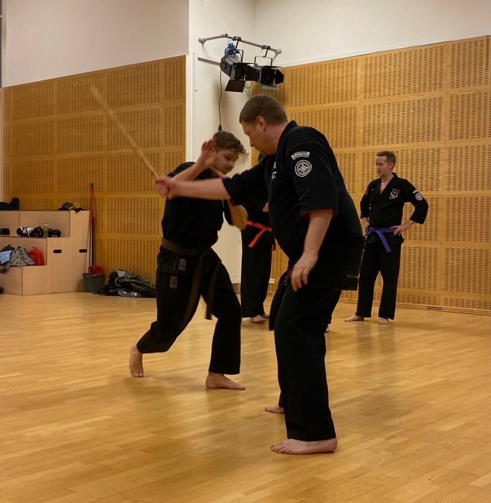 Kent Lund Simonsen and Kim Dahl - Kenpo Storm Technique
