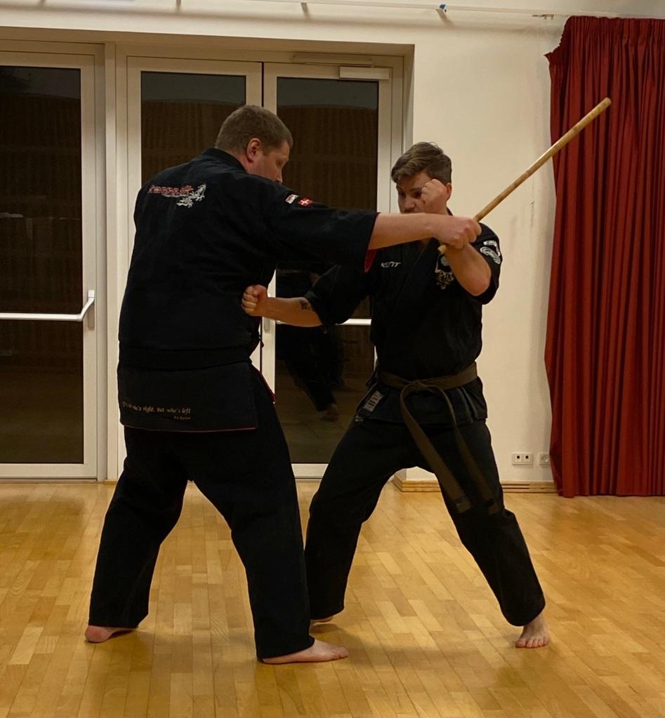 Kim Dahl and Kent Lund Simonsen. Kenpo Storm Technique